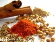 condimente vegeta boia ardei iute sparanghel menta piper sare
