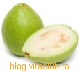fruct guava vitamine minerale nutritie dieta slabire continut nutritiv calorii