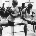 arnold schwarzenegger- ken waller workout