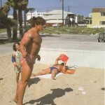 arnold schwarzenegger on the beach (pe plaja)
