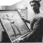 portretul lui arnold schwarzenegger