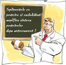cele mai bune suplimente cu proteine si carbohidrati dupa antrenament greautati