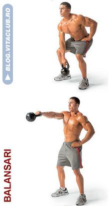 exercitii pentru tot corpul cu greutati kettlebell