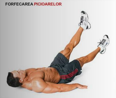 exercitii pentru zona abdomenului inferior