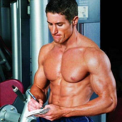 tine un jurnal de antrenament cu toate exercitiile, seriile si repetarile efectuate