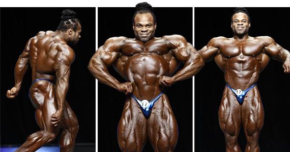 Kai Greene locul 2 Mr Olympia 2012