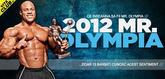 Cine o sa fie castigatorul Mr. Olympia 2012