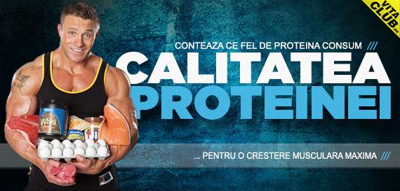 Proteine de calitate pentru rezultate maxime