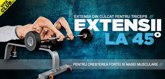 poza exercitii pentru triceps cu bara