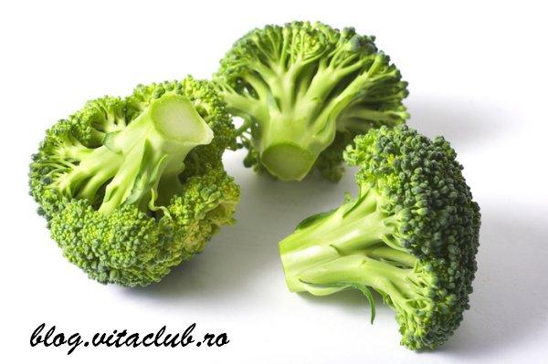 broccoli sunt o sursa importanta de vitamine si minerale
