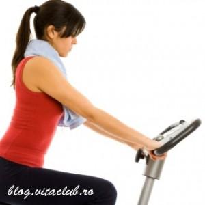 avantajele folosirii bicicletei stationare