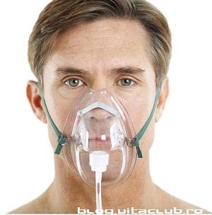 masca cu oxigen