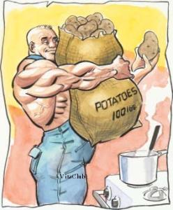 potatoes cartofi
