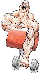 flexiile rapide stimuleaza mai bine muschii decat flexiile lente