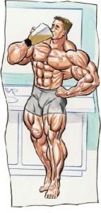 shake proteine culturism