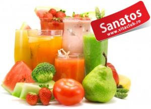 sucuri proaspete din fructe si legume