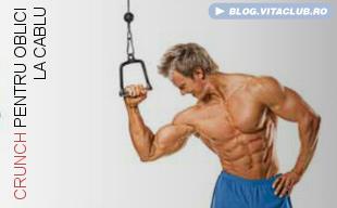exercitii pentru muschii abdominali oblici la cabluri