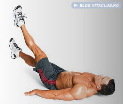 exercitii pentru abdominalii inferiori
