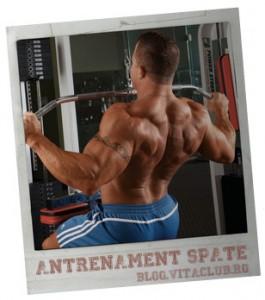 program de antrenament pentru spate