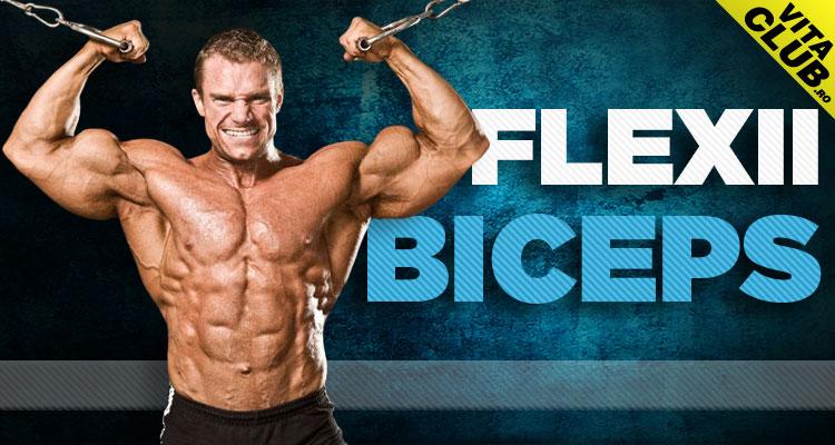 flexiile la helcometru sunt un exercitiu folosit de multi culturisti pentru antrenarea muschiului biceps