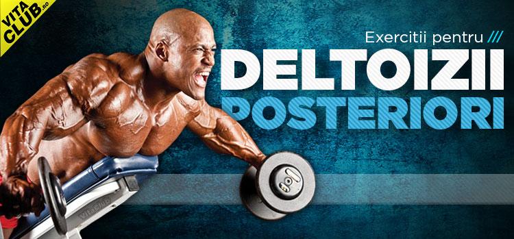 exercitii pentru muschiul deltoid posterior